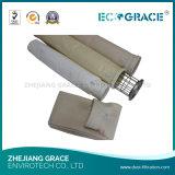 Saco de filtro do poliéster dos media de filtro da poeira do triturador de pedra