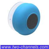 Mini radio del altavoz de Bluetooth del cuarto de baño del silicón con llamada del Mic y la taza de la succión