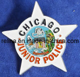 Pin personalizzato Badge di Printing Lapel con Butterfly Fitting (LP-009)