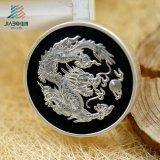 Jiabo diseñó la moneda de plata de la moneda de la prueba de la menta