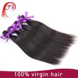 バージンの安くブラジルの織り方の毛は、まっすぐな波がPaypalの人間の毛髪を受け入れるあらゆるカラー染めることができる