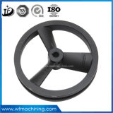 OEM Customized Sand Casting Grey Iron, Cast Iron Flywheel of Fitness Mini-exercice Bicyclettes Home Gym