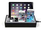 Leatherette Multi-Device Dock Charger Desk score Cradle Holder
