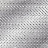 직류 전기를 통한 Checkered 강철 플레이트 크기