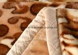 販売100%年のポリエステルRaschelの熱い総括的なストロンチウムB170211 2の柔らかい印刷されたミンク毛布