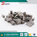 Segmento de diamante de corte de granito para la hoja de diamante de 2000 mm