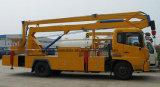 Dongfeng 4*2の働くトラックオーバーヘッド22メートルの高度の