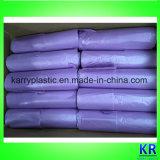 Sacs à provisions de sachets en plastique de T-shirt de HDPE sur le roulis