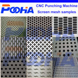 Feeding PlatformのスクリーンのMesh Hole CNC Punching Machine