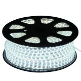tira de 3528 220V LED con impermeable (blanco)