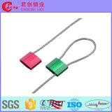 Alu Verschluss-Ladung-Behälter-Kabel-Dichtung mit sequenzielle Zahl-Laser-Druck