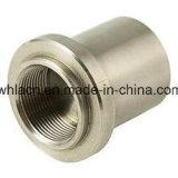 Pièces de usinage d'adapteur de valve d'acier inoxydable (bâti de précision)