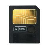 Cartão de memória esperto da manutenção programada do cartão instantâneo 64MB dos media de Smartmedia 64m para a câmera velha