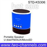 Altavoz de la aleación de Alumium mini con TF /FM/USB (STD-KS306)