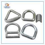 Boucle/anneau de fouettement à sens unique galvanisés forgés d'acier du carbone