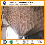 Tubo rotondo del acciaio al carbonio di lunghezza di spessore 5.8m di Q195 0.4 ~27mm