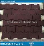 Pavimentazione di gomma della stuoia per la stuoia di gomma del pavimento dello strato della sosta