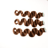 Tape 9 Colors Best SellingのRemy HairブラジルのStraight Skin Weft Hair 20 Pieces Beauty Hair Extensionsの24inches Tape