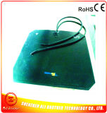 300*400*1.5mm 230V 1400W Adhesive Black Silicone Rubber Heater