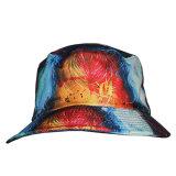 Cappello poco costoso della benna tinto legame floreale variopinto su ordinazione