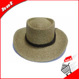 Gesponnener Papierstroh-Cowboysun-Hut