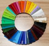 Hoja de acrílico coloreada del molde para hacer publicidad de muestras