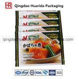 Aluminiumfolie-Reißverschluss-Beutel für das Verpacken der Lebensmittel