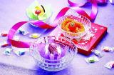 Vaisselle de cuisine ronde moyenne de haute qualité Kb-Hn0582 de cuvette en verre