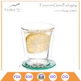 Cópia de vidro do projeto do copo do ODM/OEM Bélgica para a água ou o café
