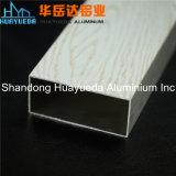 나무로 되는 이동 인쇄 사각 관 알루미늄 밀어남 단면도