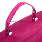 Cuoio tenuto in mano della borsa - borsa del sacchetto delle signore