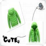 Winter Warm Casual High-Quality Fake Down Jacket para Lady 601