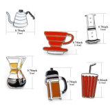 Brooches elettrici dell'erogatore dell'acqua di vetro di vino della caldaia della teiera del caffè della cola
