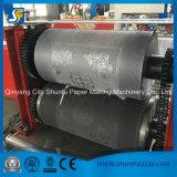 Double machine de fabrication de papier de serviette de couleur avec l'impression et graver