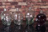 Hecho a la medida botella de cristal del cráneo por un vodka