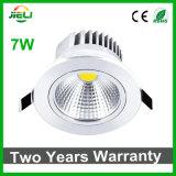 Luz de techo de interior de la buena calidad 7W AC85-265V LED