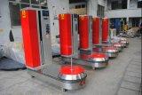 공항 자동적인 수화물 /Baggage 감싸는 기계 또는 깔판 뻗기 포장지