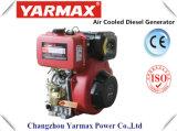 Yarmax空気によって冷却される単一シリンダー/Vertical 188fのディーゼル機関