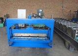 Machine de formage de feuilles de toit trapézoïdale avec du matériel en acier inoxydable