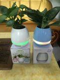 Le vase intelligent à musique, admission de contact, peut jouer le piano, chantent des chansons, haut-parleurs de Bluetooth, nouveaux produits créateurs