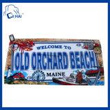140cmx70cmの綿によって印刷される漫画のビーチタオル(QHMC4451)