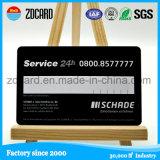 Contacto del estándar de ISO y tarjeta inteligente plástica sin contacto
