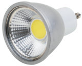 220V GU10 5W Warm White COB DEL Spotlight