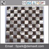 モザイク床のタイル、円形パターン大理石の石のモザイク