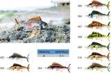 Attrait réaliste réaliste sans plomb de pêche de configuration de poissons de palan de pêche