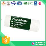 Sacchetto di immondizia di plastica di vendita calda con il contrassegno su ordinazione