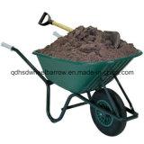 Venda quente plástica do Wheelbarrow Wb6414A da bandeja para o mercado global