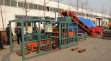 Qt4-20 Automatic Hydraulic Brick Making Machine Line für Sale in Afrika
