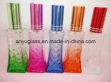 다른 색깔 유리제 향수 또는 향수 또는 화장품 병