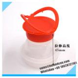 1litersプラスチックふたが付いている円形の缶